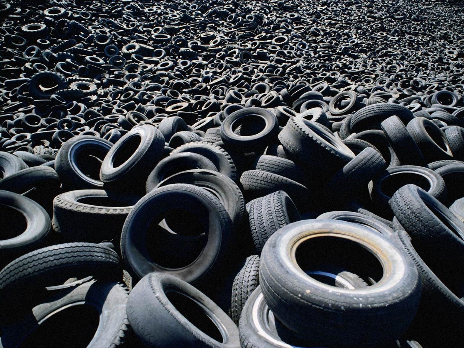 Старые шины можно сдать во Власихе, Краснознаменске и д. Казино Одинцовского района