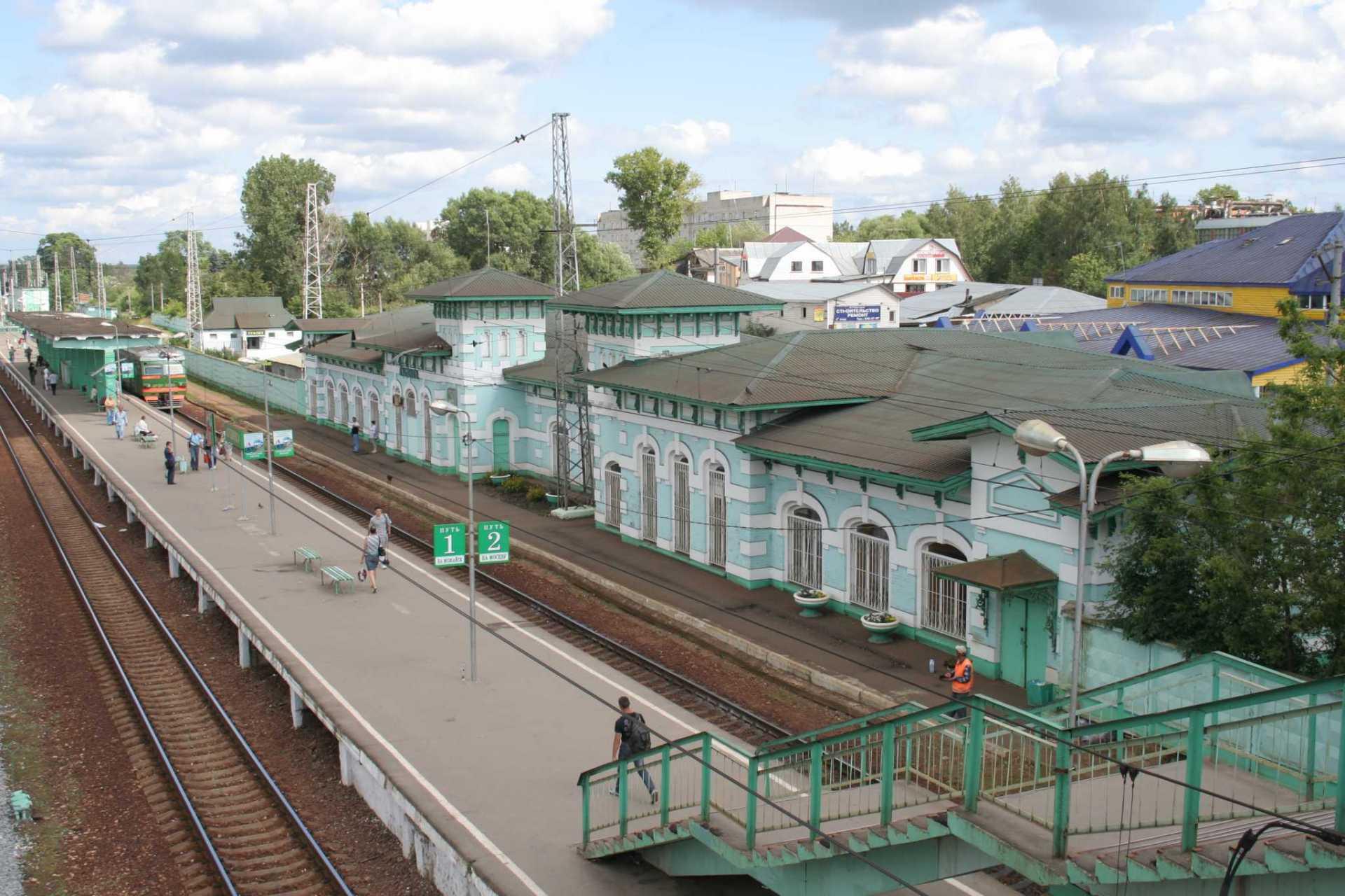 Реконструкция станций Петелино и Одинцово компанией ЦППК
