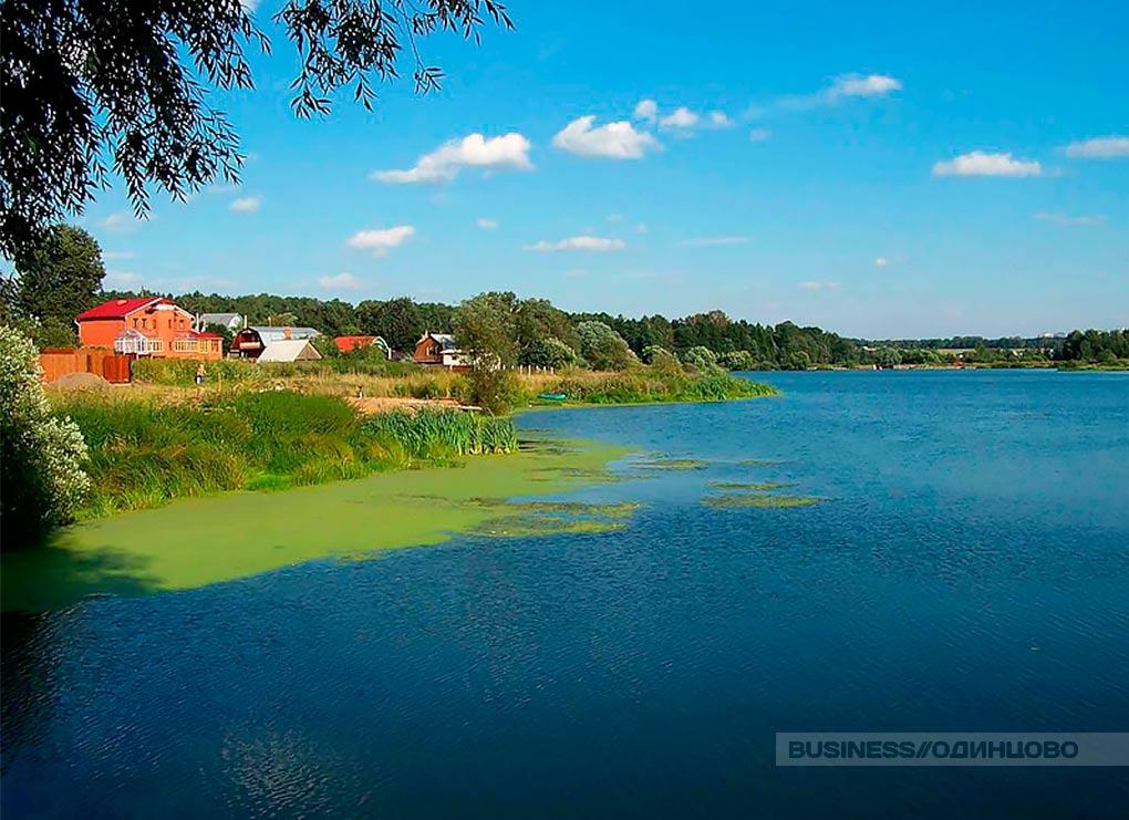 Reka Likova v Odincovskom rajone, poselok Vnokovo