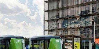 Автобусы-беспилотники запустят в Сколково