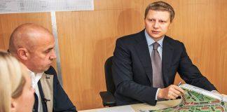 """В Одинцово возобновлено строительство проблемного жилого комплекса """"Центральный"""""""