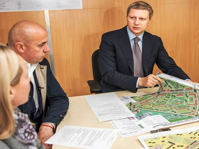 В Одинцово возобновлено строительство проблемного жилого комплекса