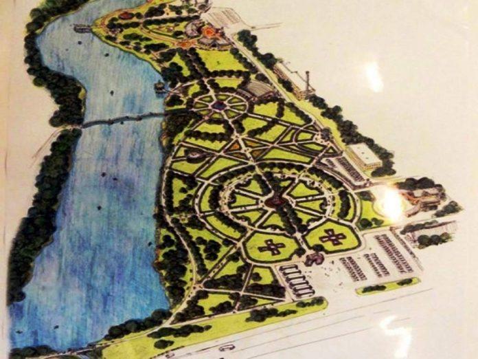 В Голицыно началось строительство парка с летним театром и лодочной станцией