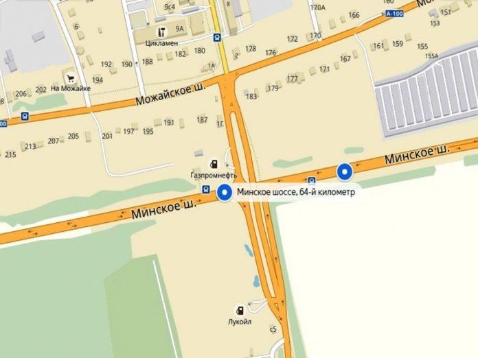 Власти снова перенесли сроки реконструкции моста на 64 км Минского шоссе