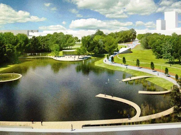 Центральный парк Сколково откроется в 2018 году