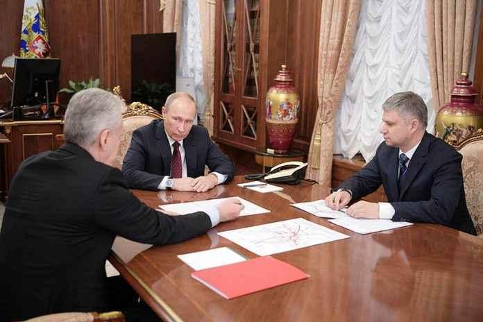 Путин и Собянин обещают Одинцово метро к 2019 году