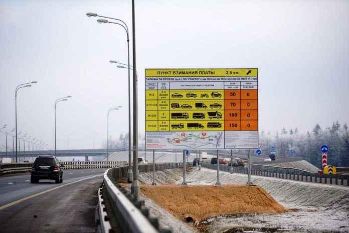 Еще один платный участок делают на Минском шоссе
