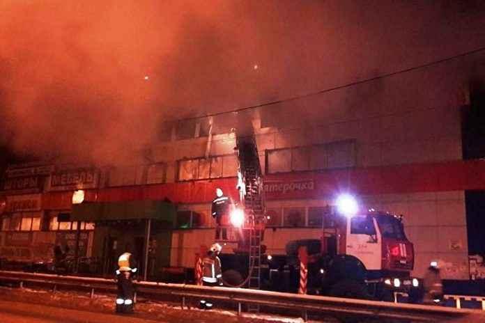 Одинцовский район Кобяково пожар