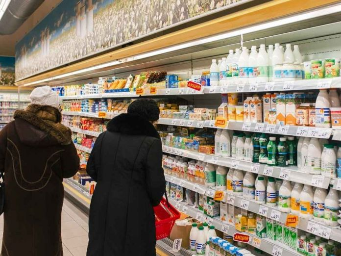 магазин молочный отдел Одинцово