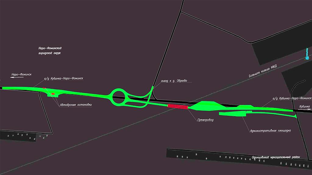 Платный переезд через ЖД пути в Кубинке