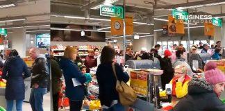 Открытие супермаркета Billa в Одинцово