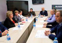 Круглый стол в Библиотеке № 1 на улице Бирюзова по вопросу открытия бесплатной юридической помощи в Одинцово