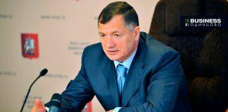 Заместитель мэра Москвы по вопросам градостроительной политики и строительства Марат Хуснуллин.