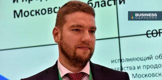Министр сельского хозяйства ипродовольствия Московской области Андрей Разин