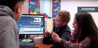 Занятия по монтажу в школе ТВ (Одинцово)