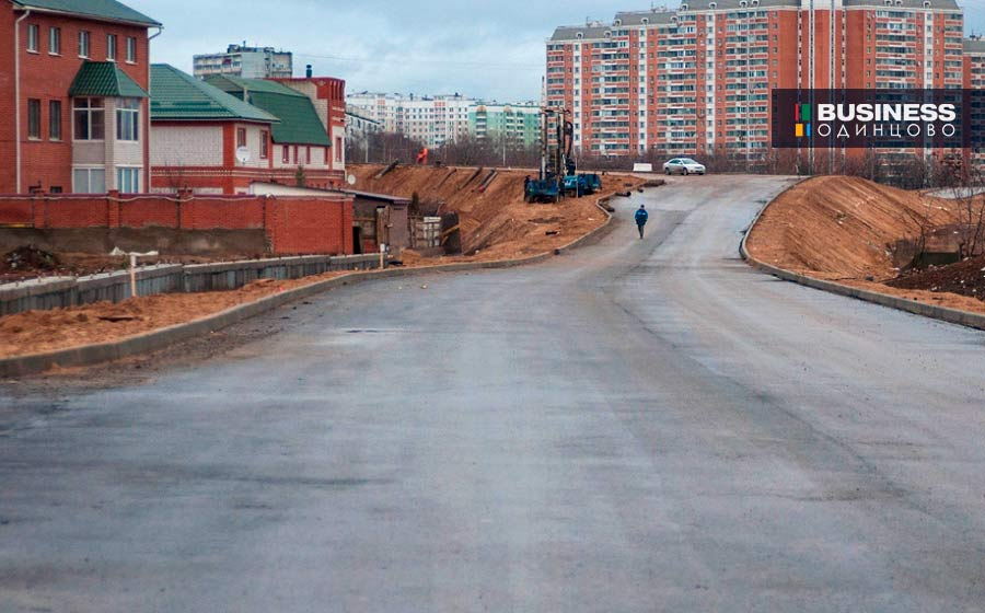 Строительство подъезда к Сколково