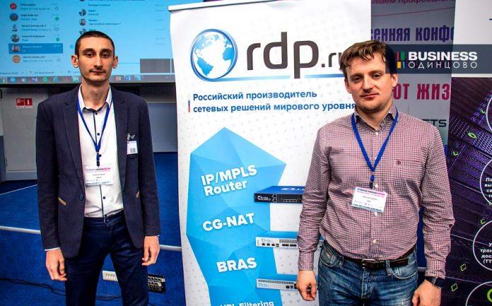 Сергей Никулин, генеральный директор RDP.RU (справа на фото)