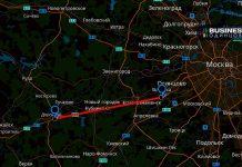 Платный участок Минского шоссе