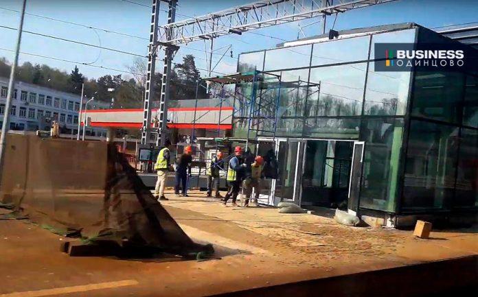 Строительство станции метро в Сколково