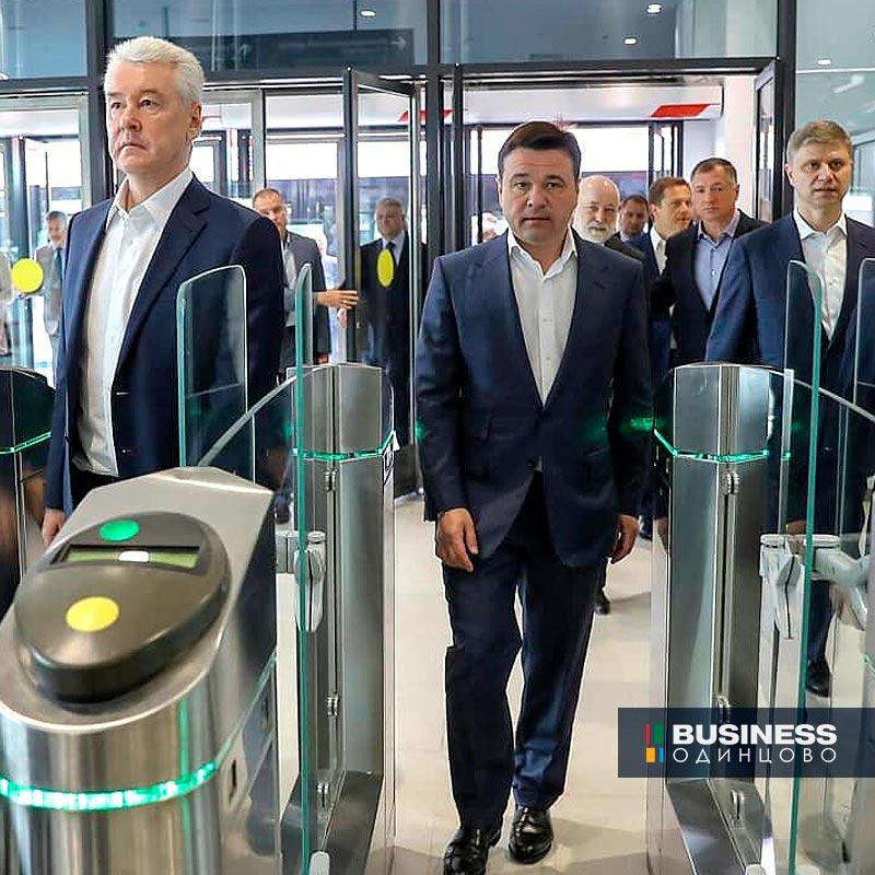 """Открытие станции """"Инновационный центр"""" в Сколково"""