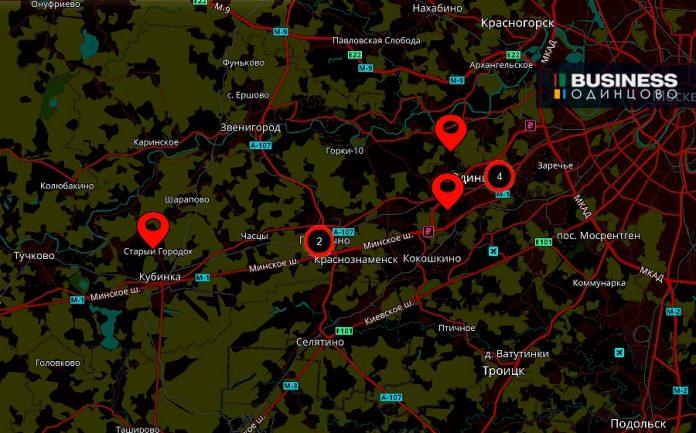 Где построят детские сады в Одинцово