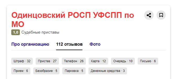 ФСПП Одинцово