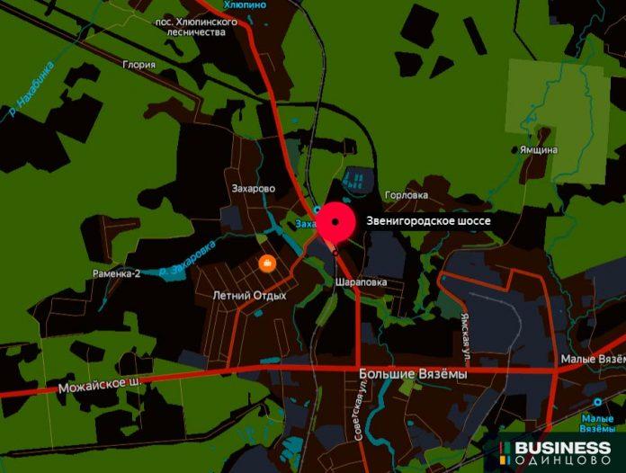 Переезд на 3 км. перегона Голицыно-Звенигород
