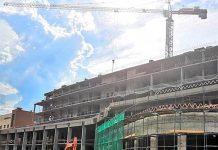 Строительство хирургического корпуса Госпиталя Лапино