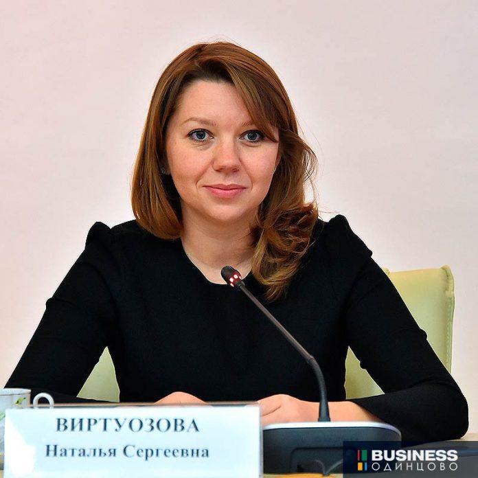 вице-губернатор Московской области Наталья Виртуозова