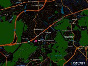ЖК Изумрудная долина на карте