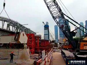 Новый арочный мост для МЦД-1 Одинцово-Лобня
