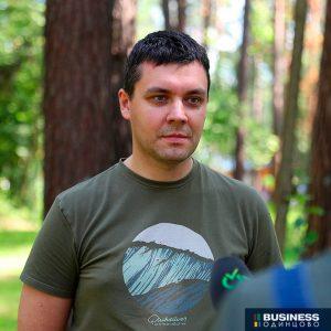 Председатель Комитета Лесного Хозяйства Подмосковья Иван Советников