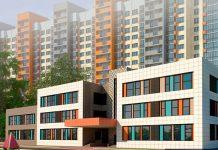 Новый детский сад на ул.Чистяковой в Трехгорке