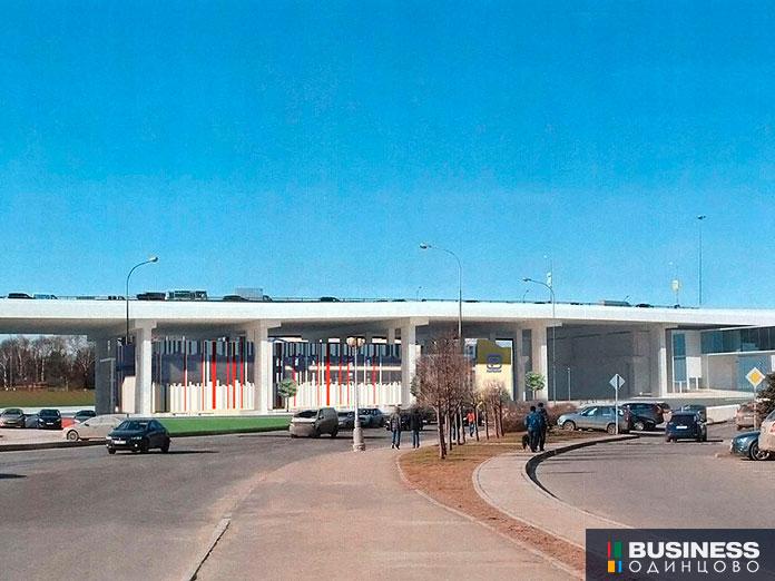 Многоуровневый паркинг под ТТК у Москва-Сити
