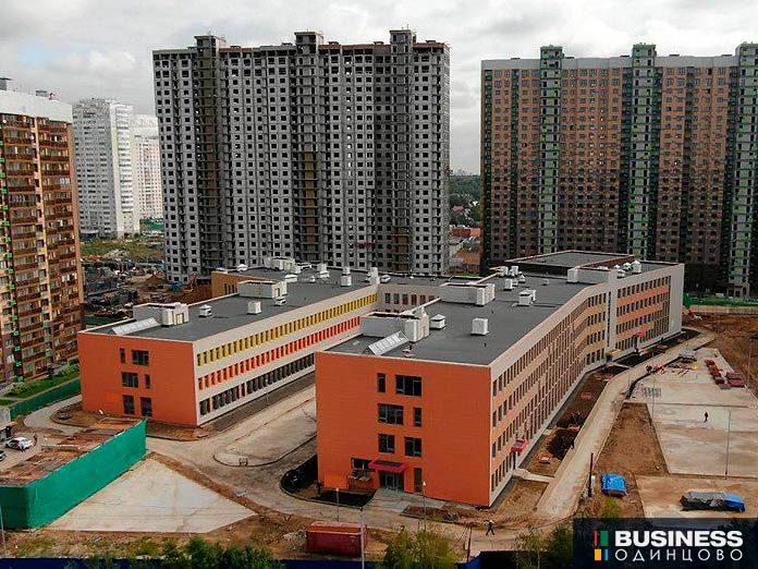 Строящаяся школа в ЖК UP-квартал