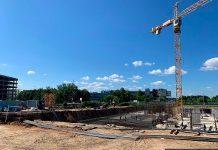 Ход строительства ЖК Stellar City по состоянию на 19 июля 2019 г.