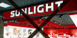 Санлайт закрывает магазины в России