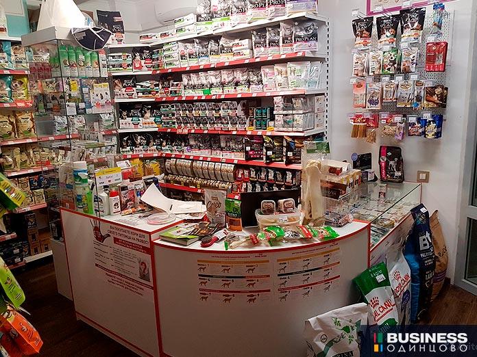 Продаётся зоомагазин в Одинцово