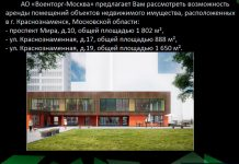 Краснознаменск: помещения Военторга в аренду
