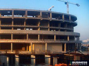 Концертный зал Амфион в Сколково - ход строительства по состоянию на 06.09.2019