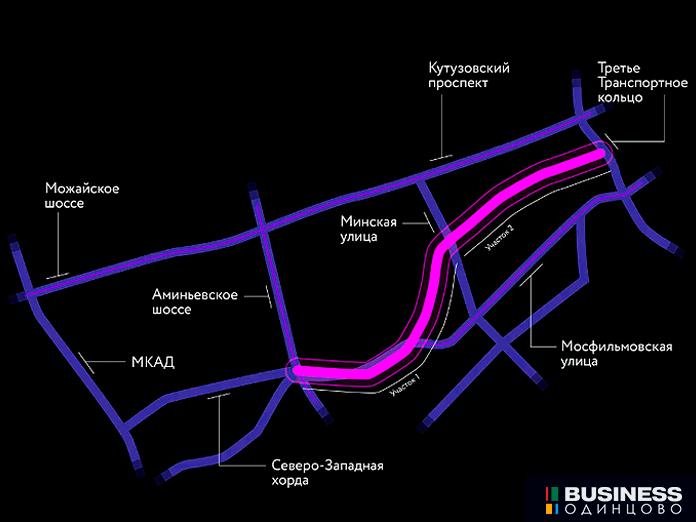 Южный дублёр Кутузовского проспекта