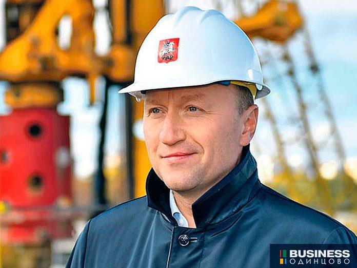 руководитель департамента строительства Москвы Андрей Бочкарев