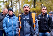 Забастовка строителей ЖК Лайково