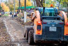 Благоустройство территорий у платформ МЦД-1 в Одинцово