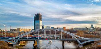 Арочный мост через Москву-реку