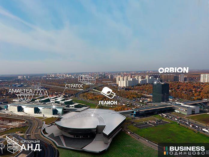 Объекты ГК САФМАР в Сколково