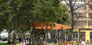 сквер имени Михаила Пришвина