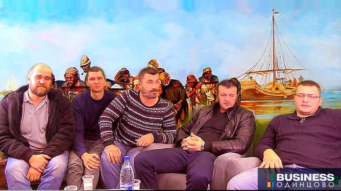 Лидеры московского протеста водителей Яндекс.Такси