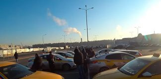 Забастовка водителей Яндекс.Такси в г.Пушкино