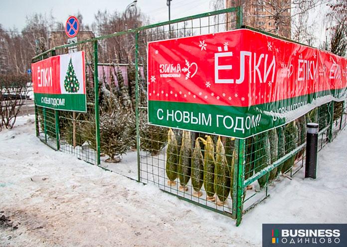 Елочные базары в Одинцово